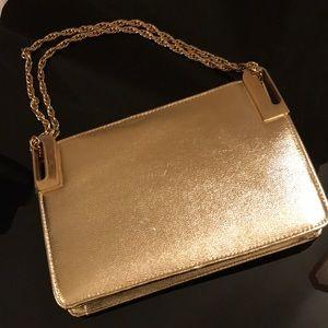 Handbags - Bright Gold evening bag